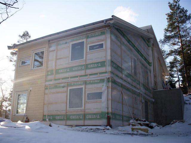 Sluttningshus i Saltsjö-boo